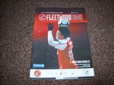 Fleetwood Town v Forest Green Rovers, 2010/11